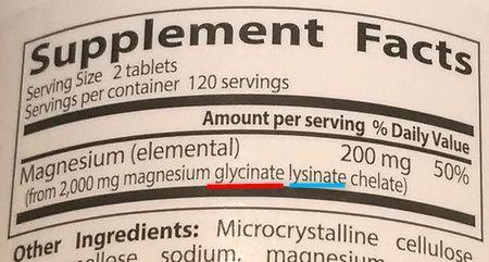 グリシン酸マグネシウム2