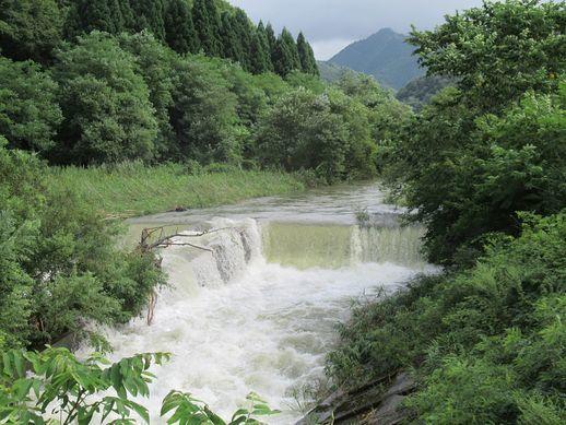 大雨で大曲花火延期か? 雨よりも治水が問題か?