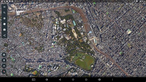 20170828 寬永寺 Google Earth_03