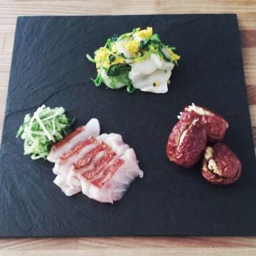 金目鯛の前菜3種