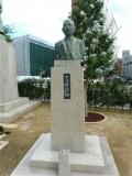 JR福井駅 松尾傳蔵胸像