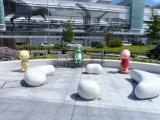 JR福井駅 Juratic像