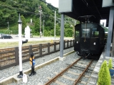 えちぜん鉄道勝山駅 テキ6形電気機関車 全景1