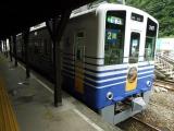 えちぜん鉄道MC7000形7007 勝山駅にて