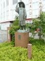JR七尾駅 長谷川等伯像