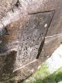 JR下部温泉駅 「素足のふるさと下部温泉郷」石碑 裏