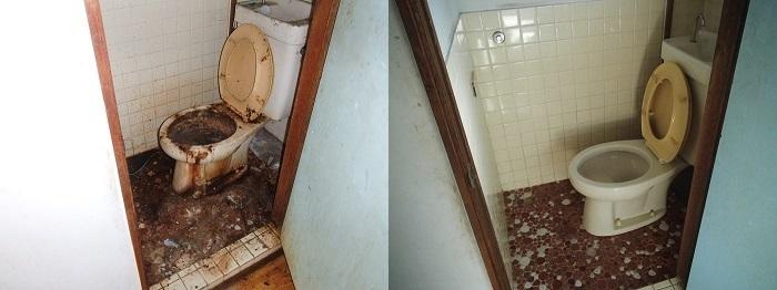 トイレクリーニングゴミ屋敷