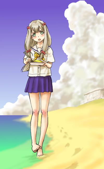 妹と…夏の浜改