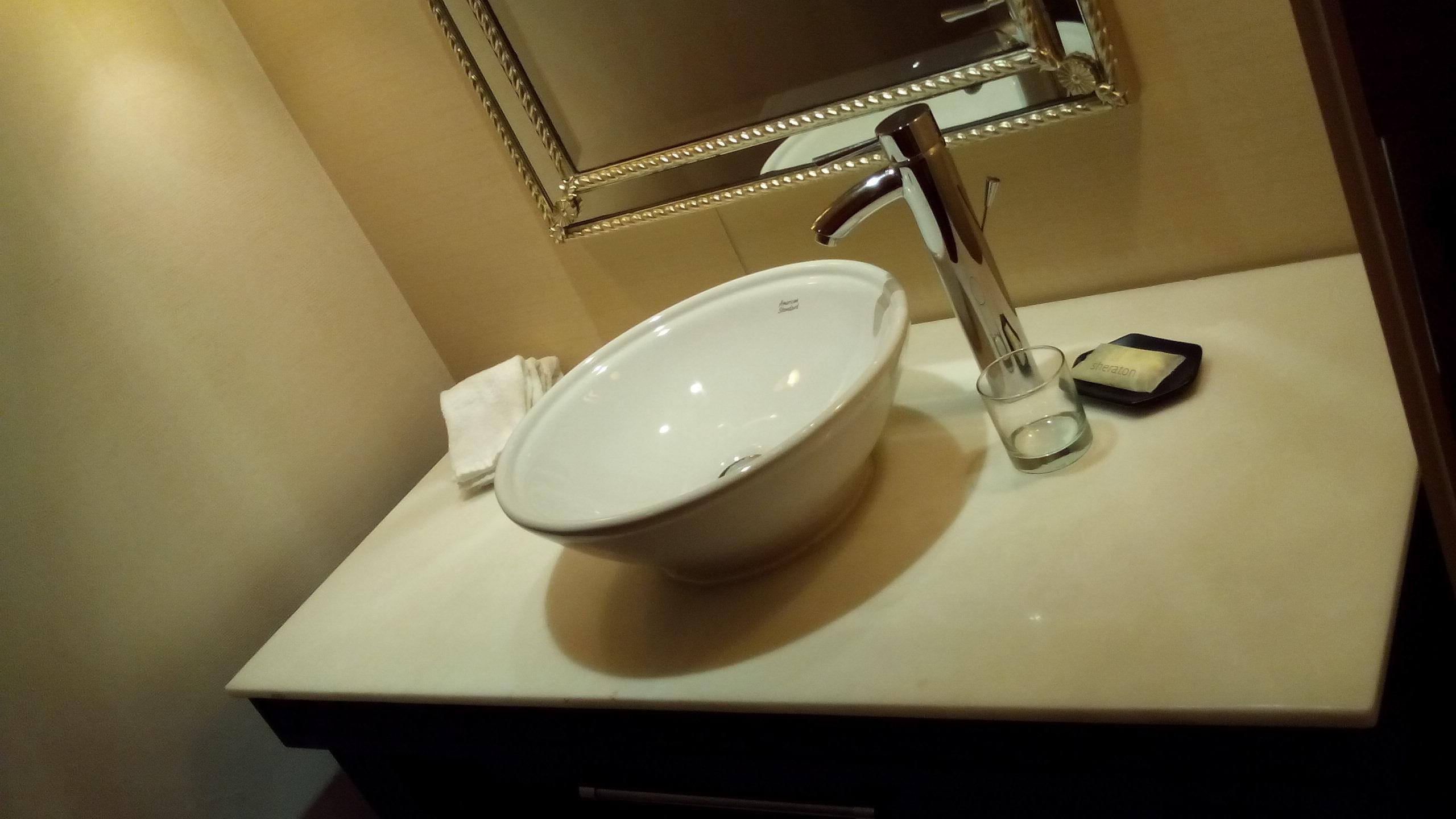 プレジデンシャルスイート05ゲストトイレ手洗い