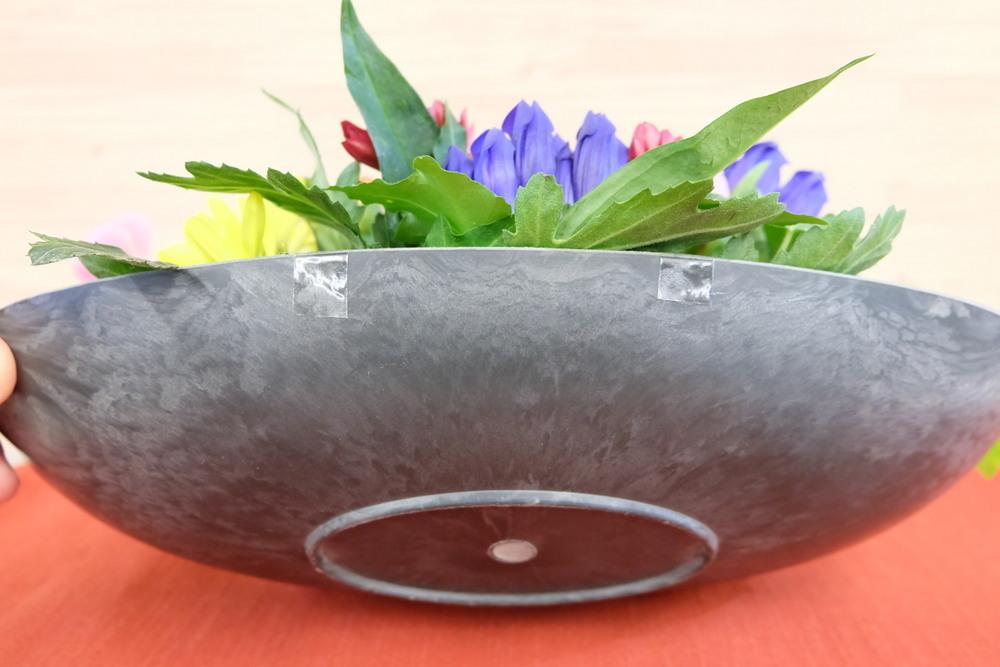 アレンジメント福華招き花器側