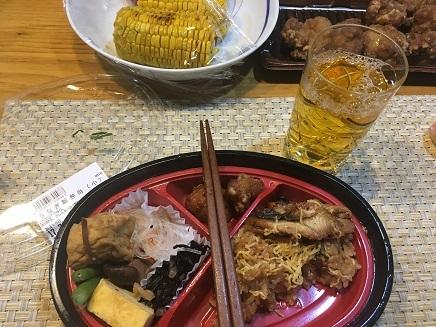 7222017 夕飯うなぎ飯S