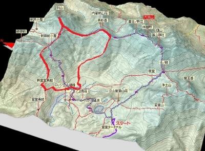 20170910立山地図立体図