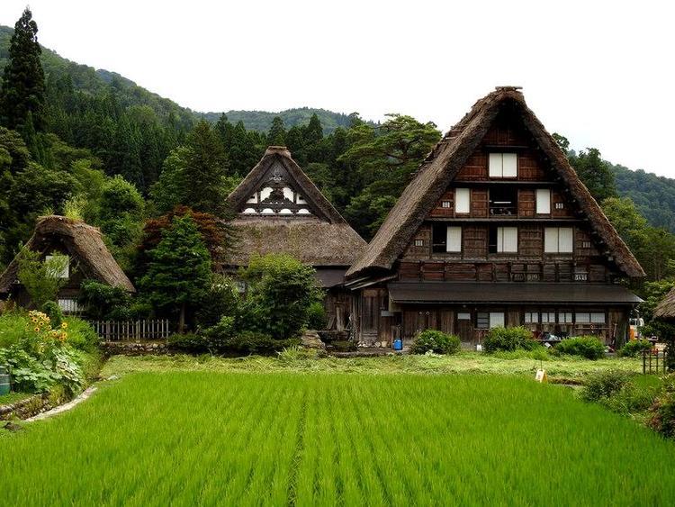 夏休みのお盆期間に白川郷へご旅行 3