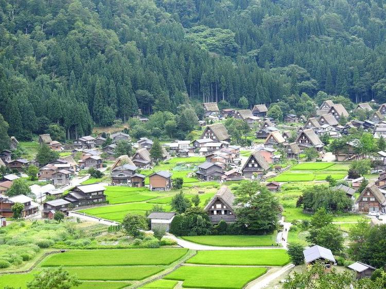 夏休みのお盆期間に白川郷へご旅行 8