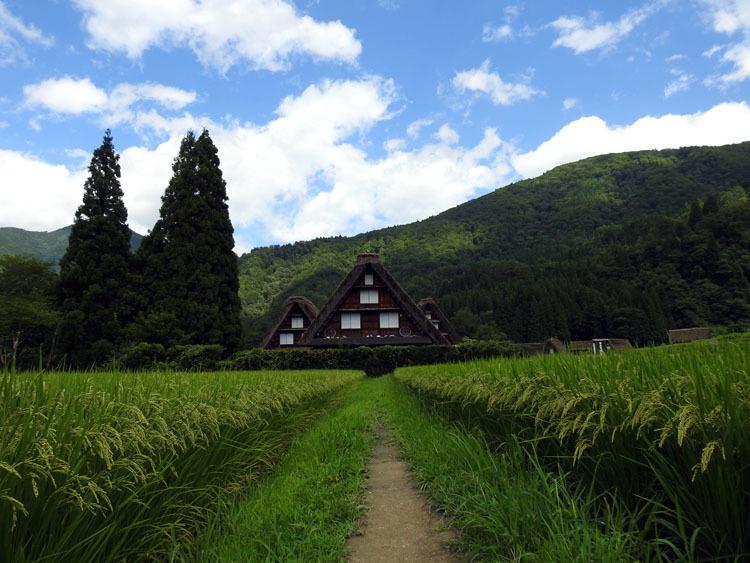 夏休みのピークが去って少し落ち着いたこの時期に白川郷へ9