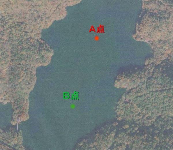 丸沼水温観測点 001