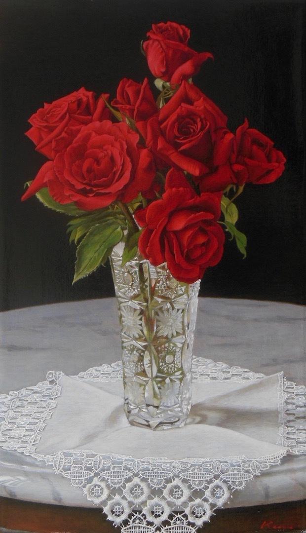 M8号「薔薇の肖像」