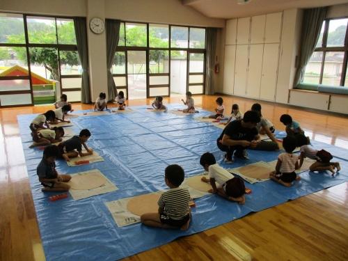 綾川町きらきら子育て支援事業 制作風景