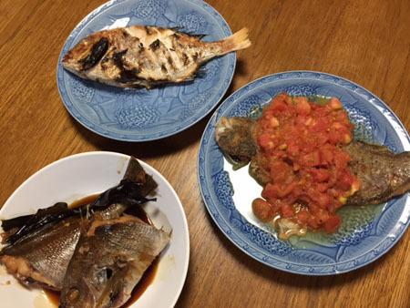 7月14日 魚料理 2