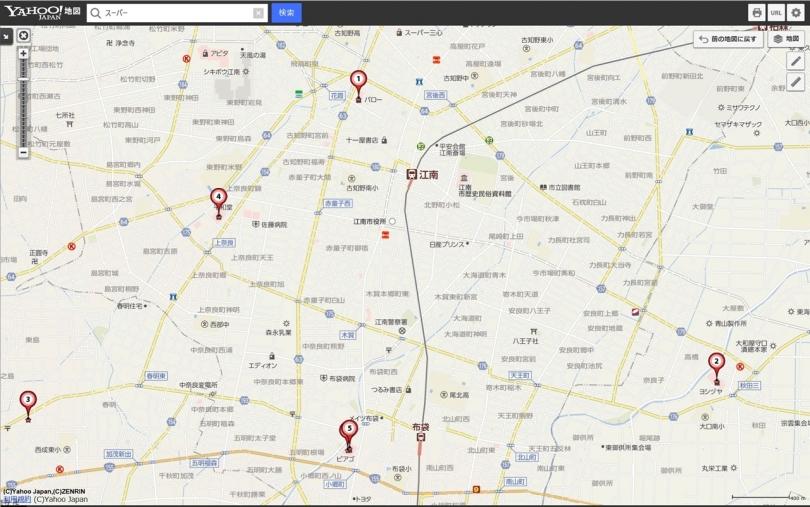 江南市マップ
