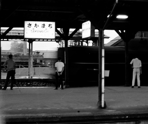 IMG-0167・坂町駅にて
