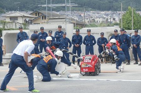 消防団ポンプ操法大会2017 (7)