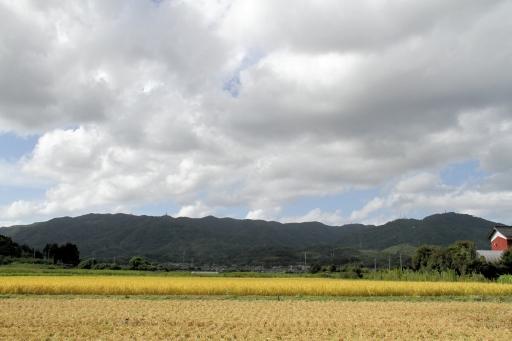 久良彌神社付近から見た山々