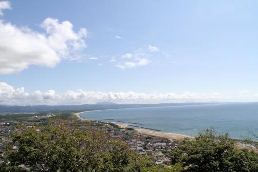 夏の終わりの稲佐の浜
