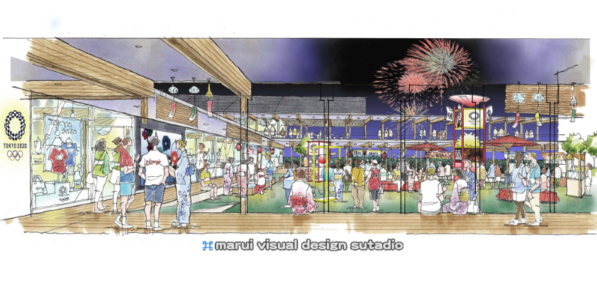 2020東京オリンピック・選手村ビレッジプラザ