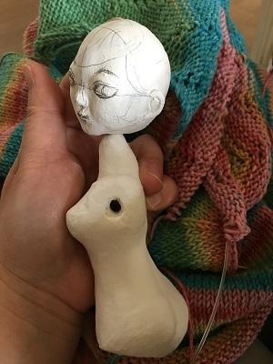 20170802 球体関節人形 25㎝