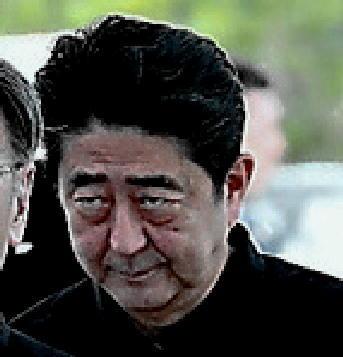 沖縄慰霊祭 安倍2 - コピー
