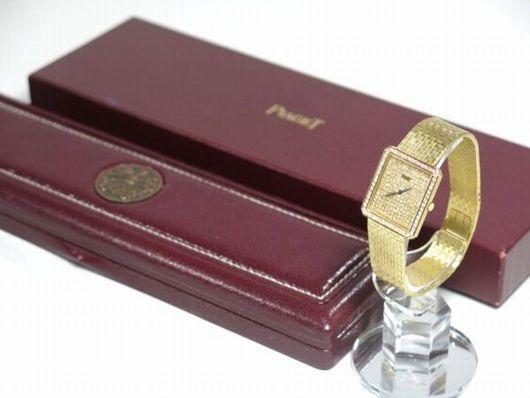 ピアジェ 750刻印 ダイヤモンド 手巻き レディース 腕時計