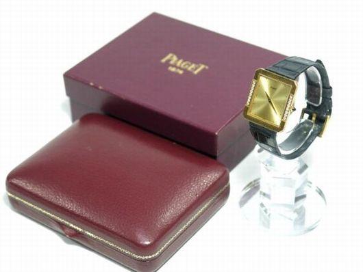 ピアジェ 750刻印 ダイヤ 手巻き レディース 腕時計