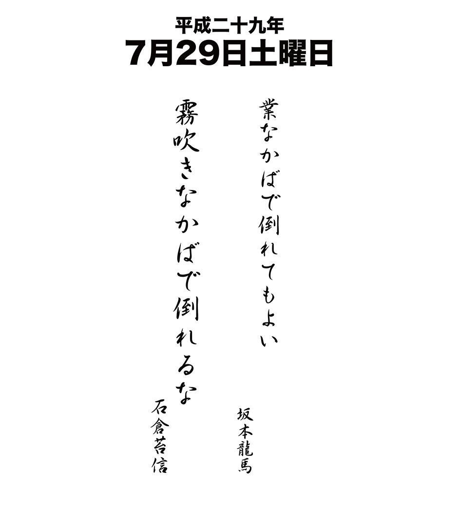 平成29年7月29日