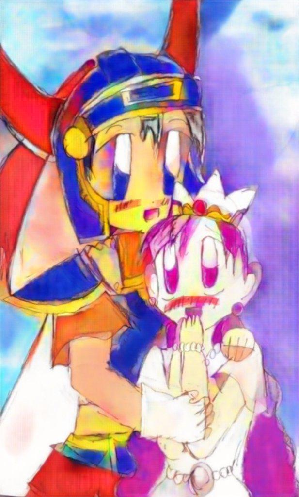 勇ロラ~。紫髪ローラ姫もいいね。