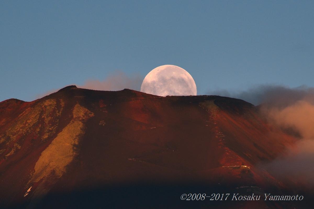 赤富士パール (山中湖)