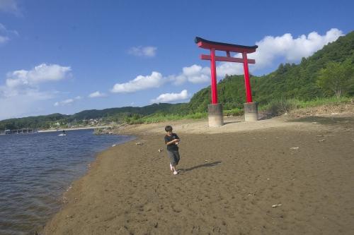 湖遊び_12