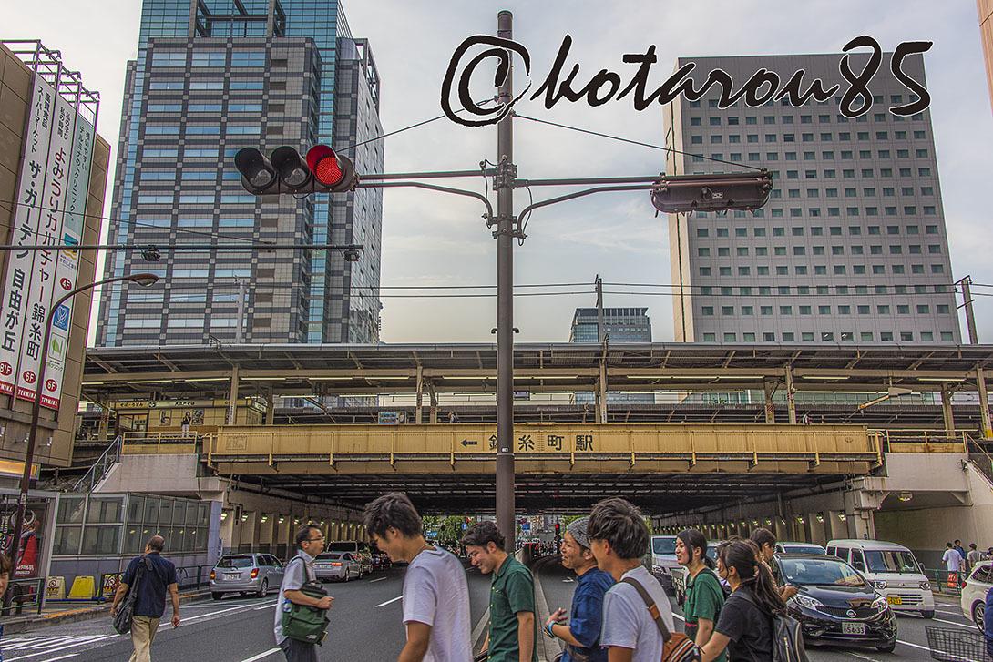 3連休最終日の錦糸町駅前 20170718