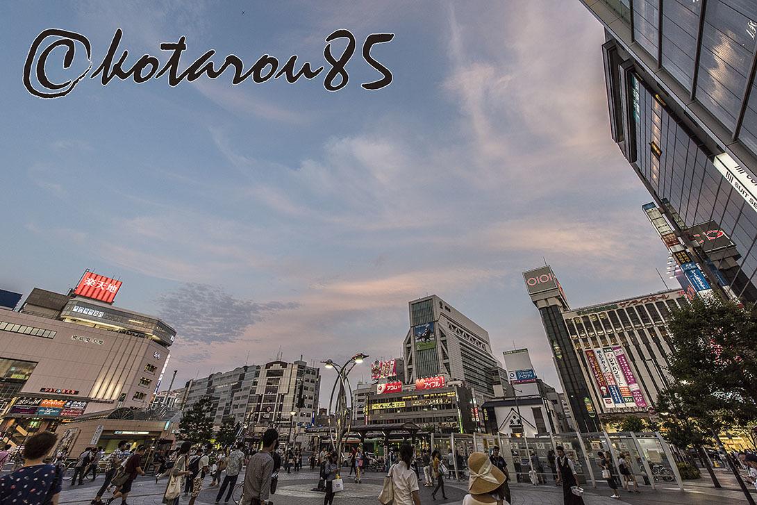 3連休最終日の錦糸町駅前3 20170718