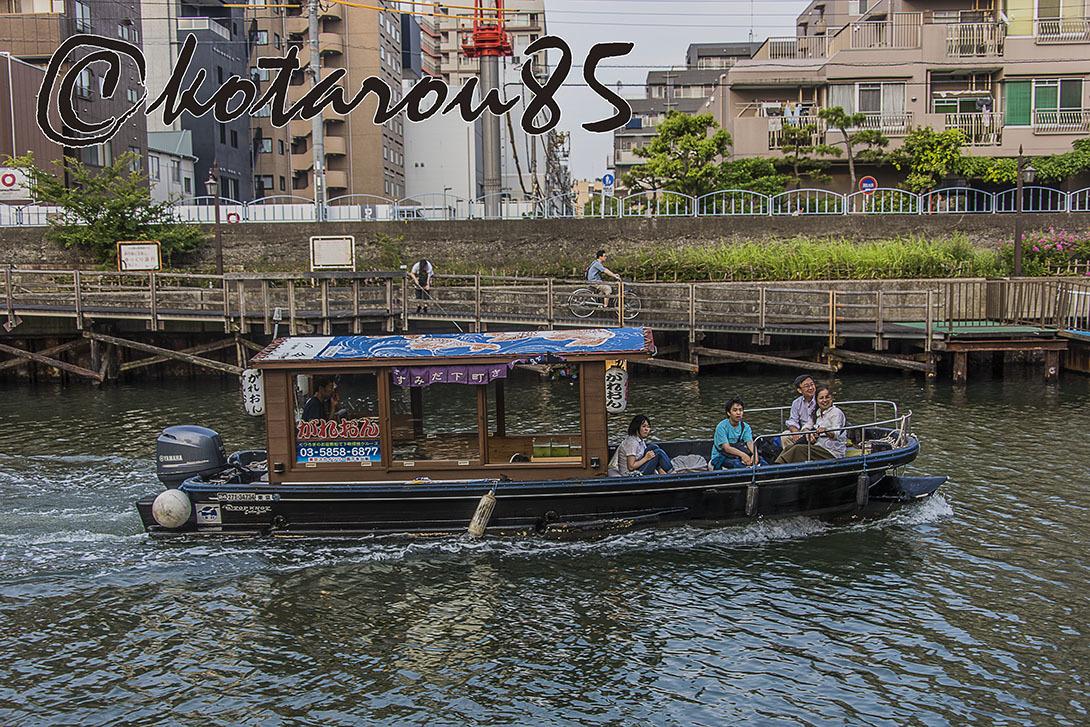 横十間川の小旅行 20170718