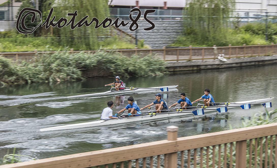 小名木川のボートマン2 20170905
