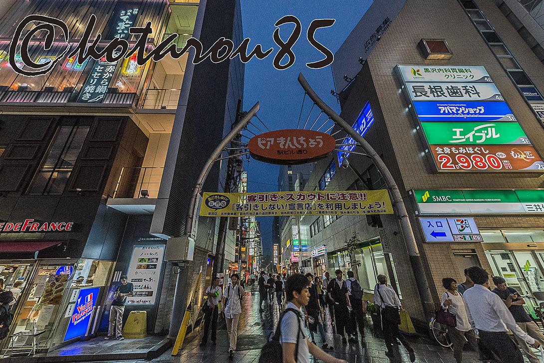 秋雨の錦糸町駅前3 20170908