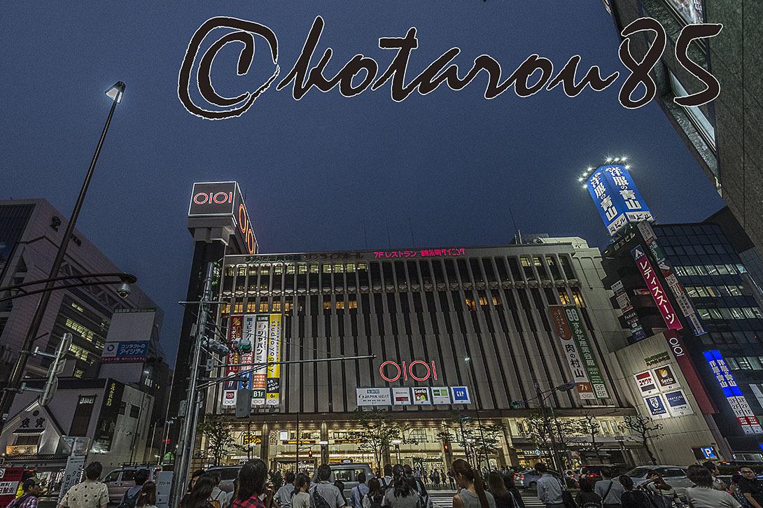 秋雨の錦糸町駅前4 20170908