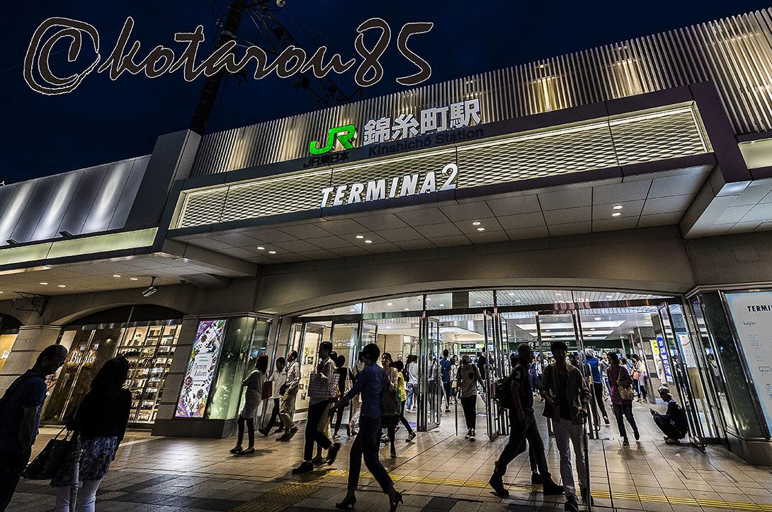 3連休初日の錦糸町 20170917
