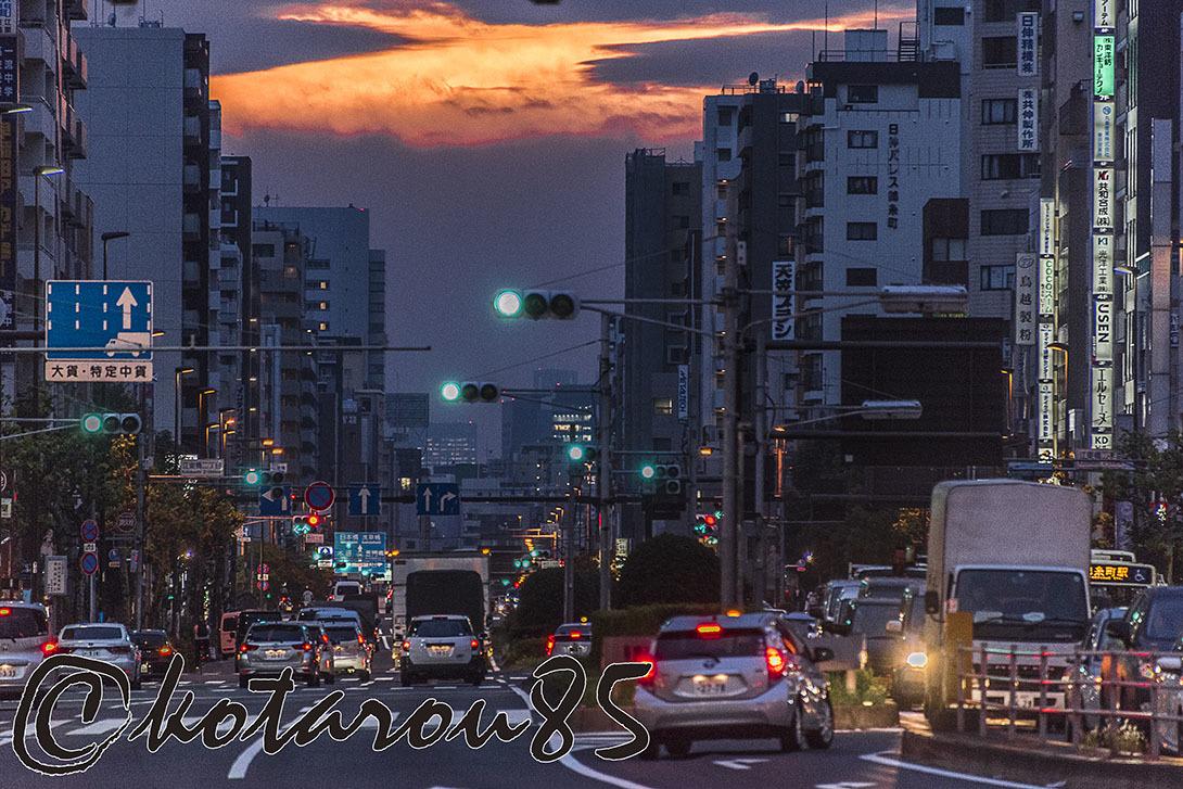 錦糸町夕景2 20170921