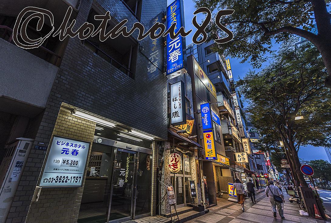 錦糸町夕景3 20170921