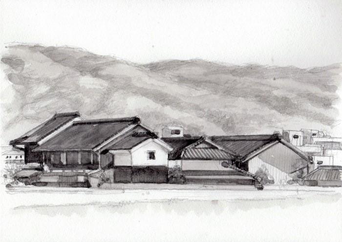 平城京より春日山方面 (700x497)