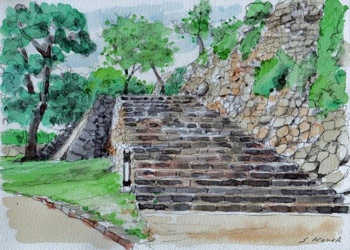 洲本城の石垣2 (700x500)