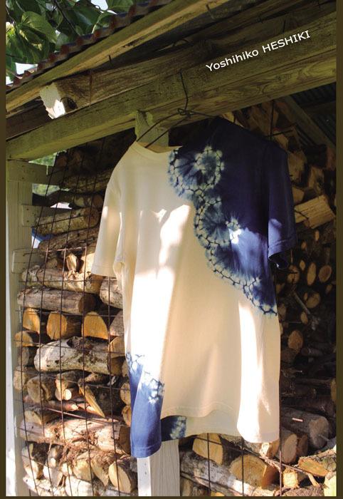 琉球藍展写真