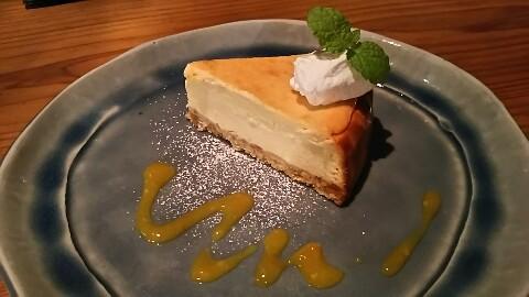 火裏蓮花チーズケーキ (1)